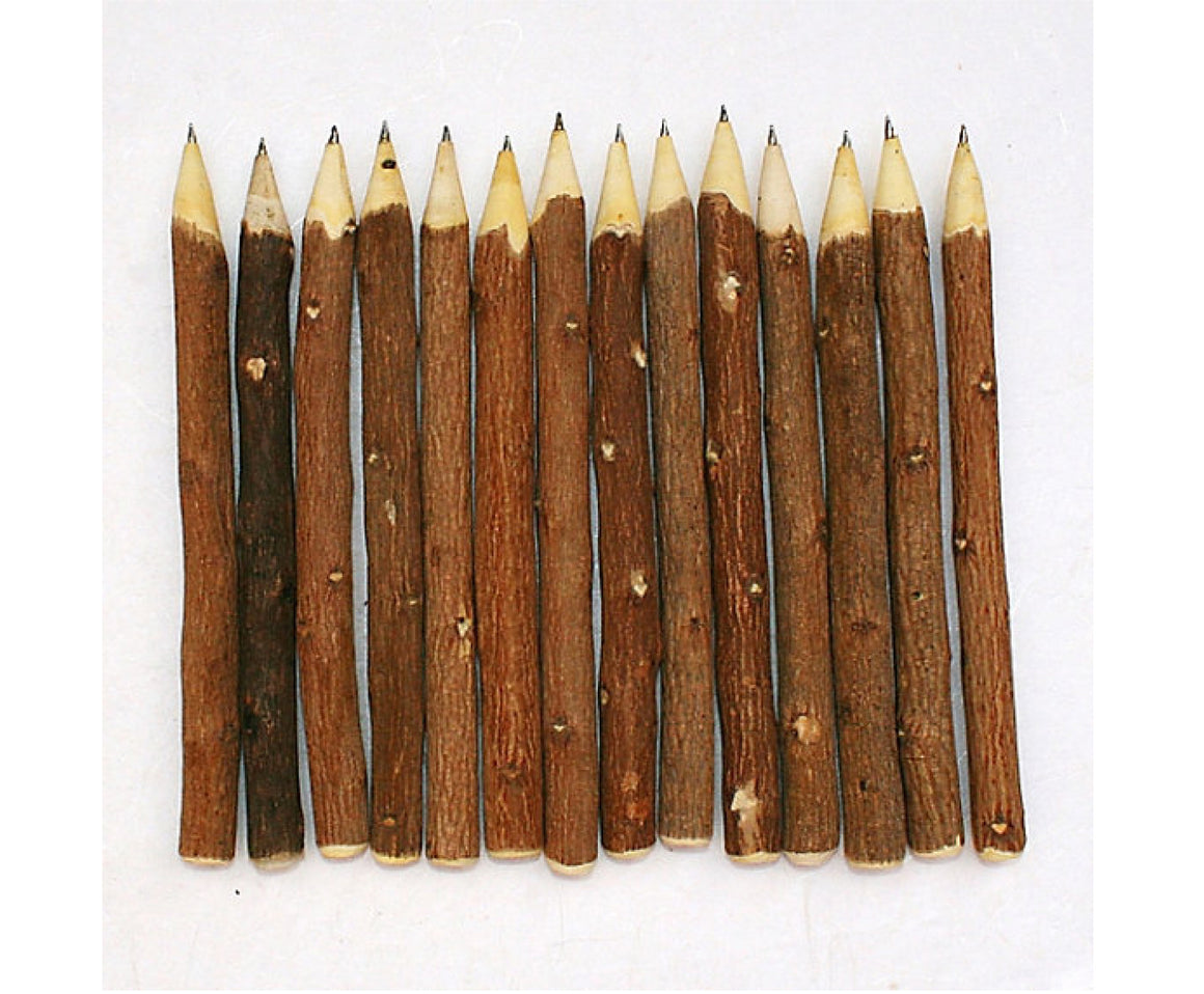 Natural Wooden Twig Pen