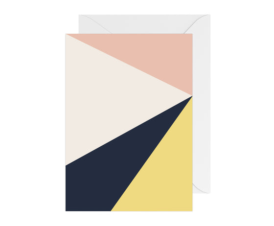Blank Card - Triangles