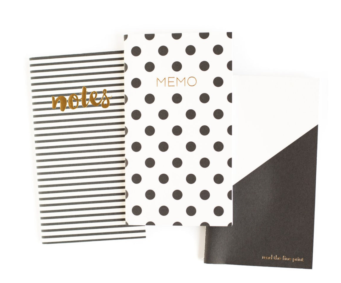 3-Pack Notebook