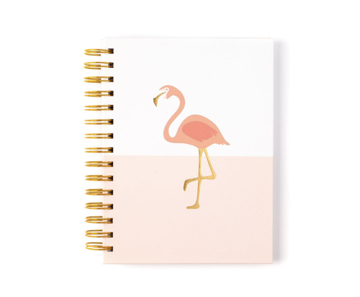 Paper Love - Flamingo Spiral Notebook