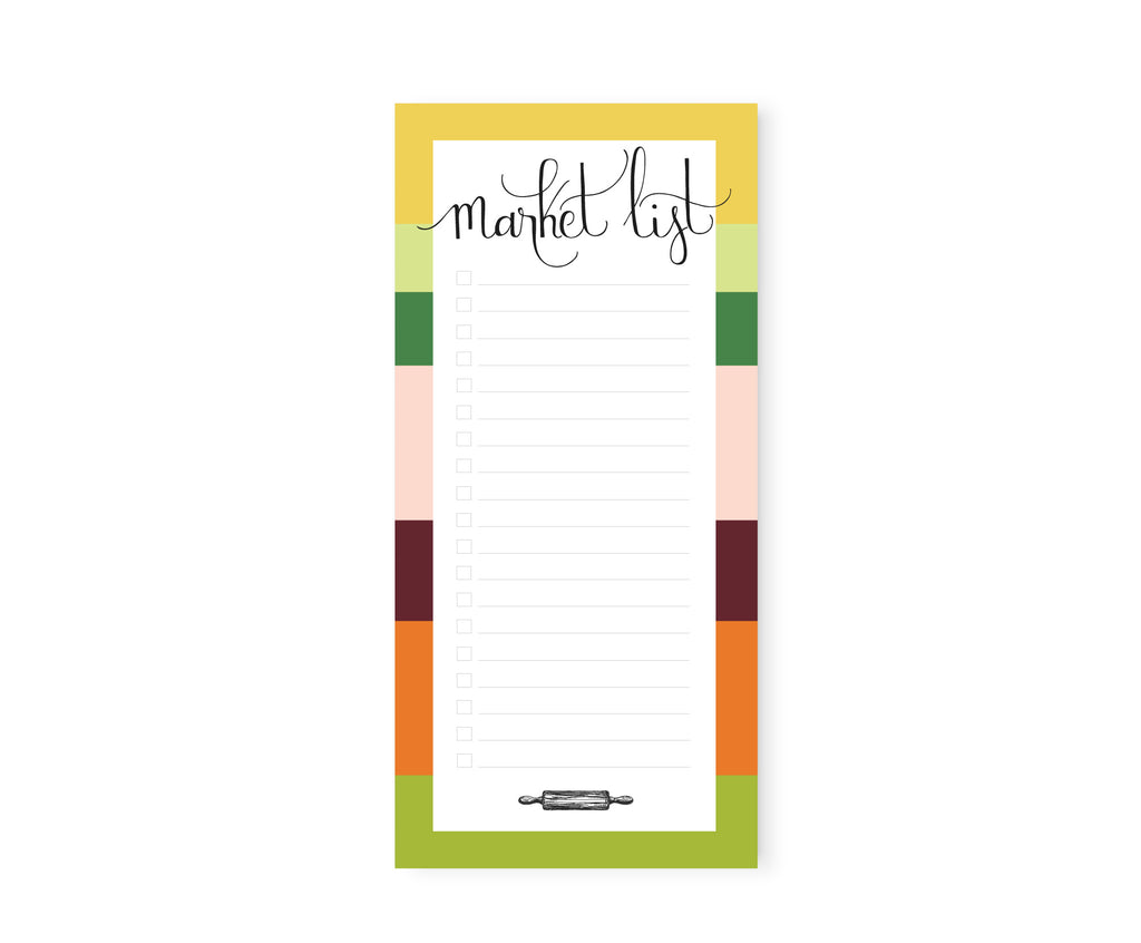 Market List - Notepad
