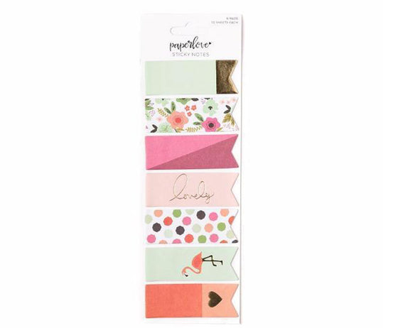 Paper Love Flamingo Sticky Notes