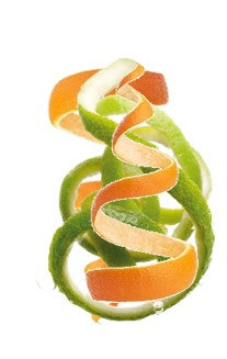 Orange and Lime Peel, Vitamin C'S best reservoir