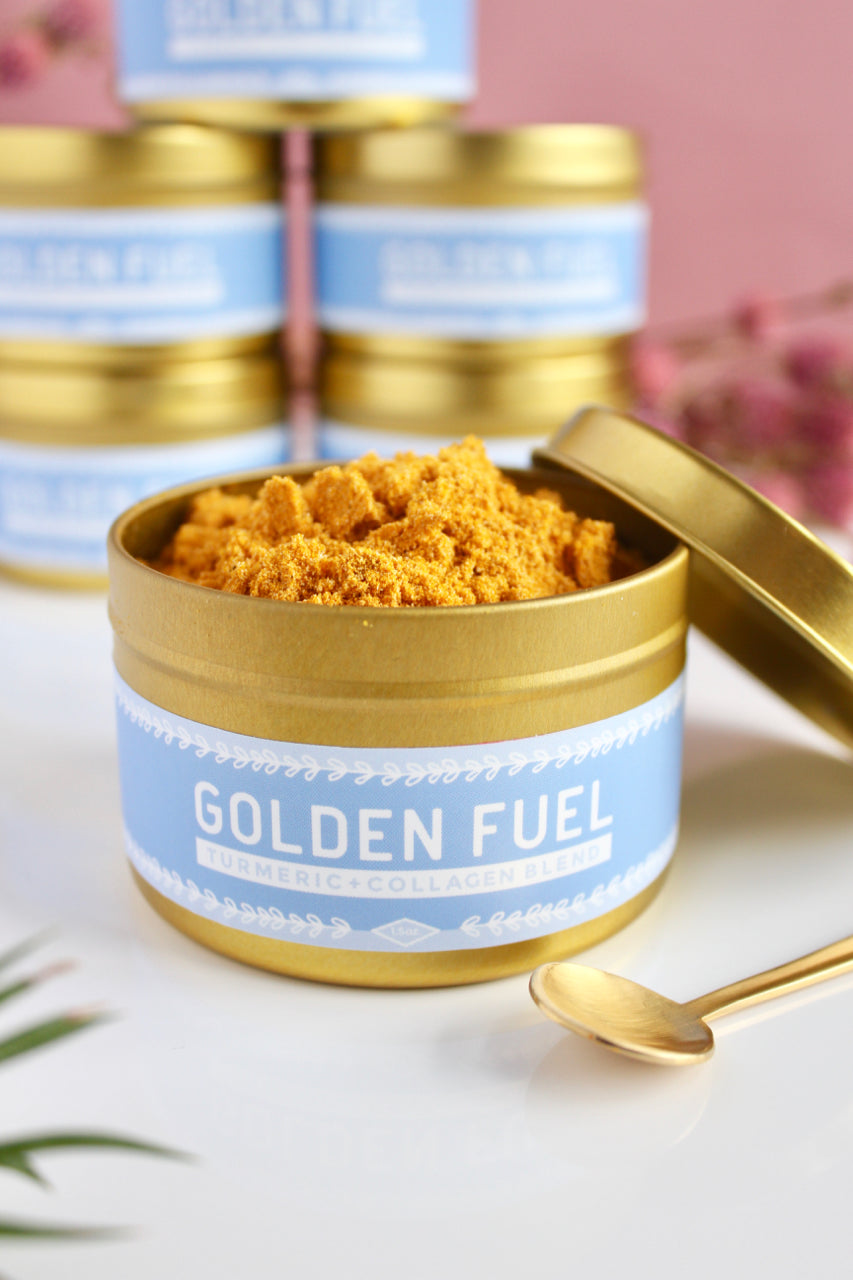 *Golden Fuel™: Turmeric-Collagen Blend