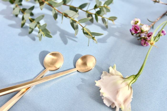 Nagasaki Gold Teaspoons (Set of 2)
