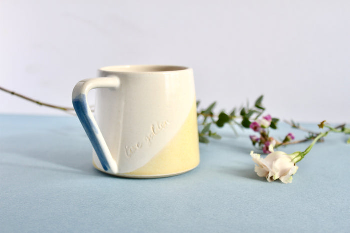 Handmade Live 24k Ceramic Mug (Limited Edition)