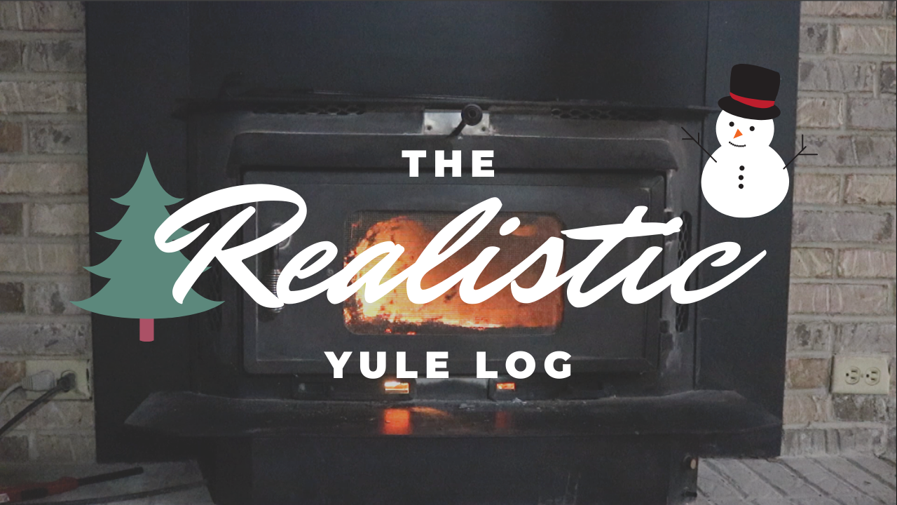 The Realistic Yule Log by Farmer Brad