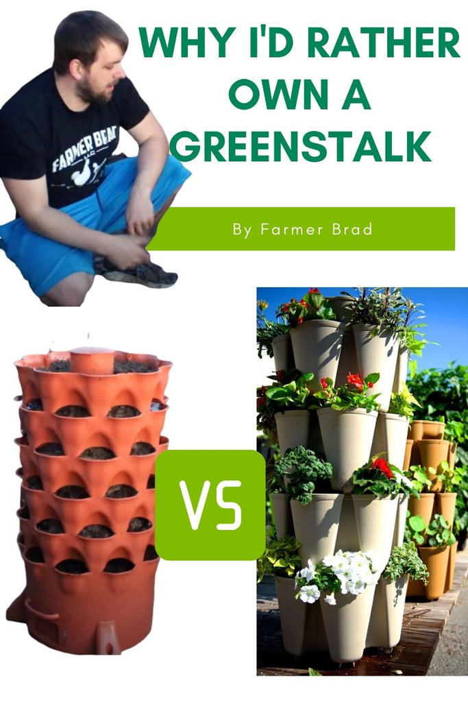 Why I'd rather own a Greenstalk for vertical growing