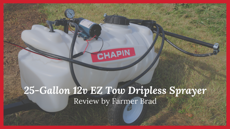 Chapin 25 Gallon Tow Behind Sprayer