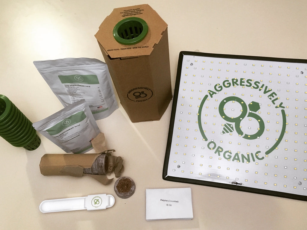 Aggressively Organic Victory Garden Review