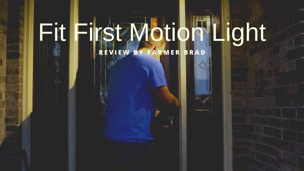 FitFirst Motion Security Light Product Review