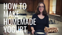How to make homemade yogurt