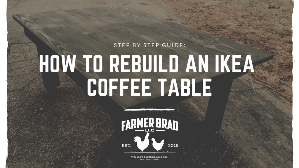 How to rebuild an IKEA coffee table.