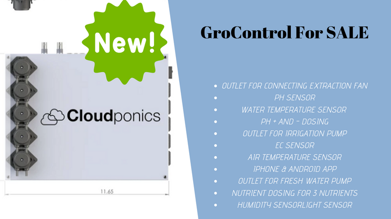 Cloudponic GroControl Device for Sale