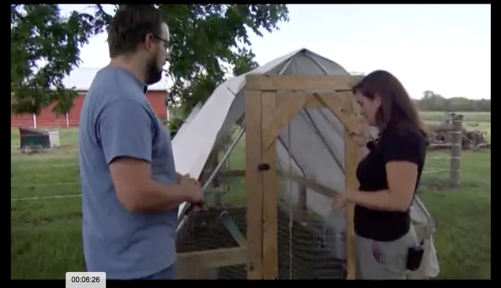 Farmer Brad Featured on Environmentally Speaking TV show