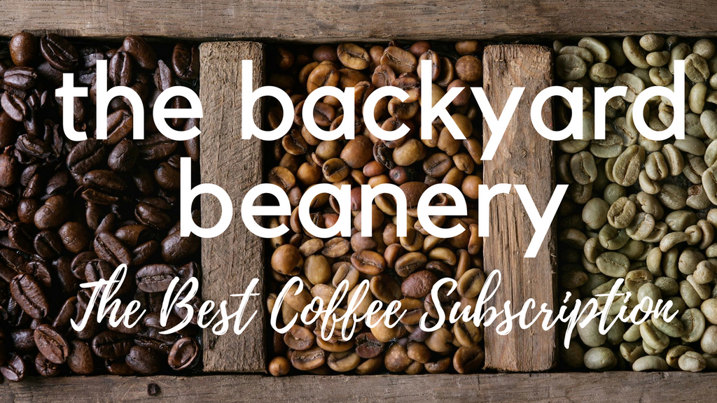 The Backyard Beanery: April 2018