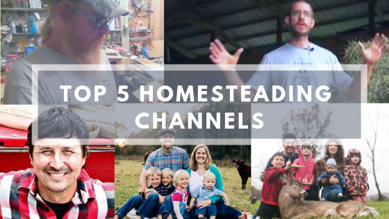 Top 5 Homestead Youtube Channels you should be watching
