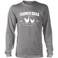 OFFICIAL FARMER BRAD (District Long Sleeve Shirt) - Farmer Brad LLC