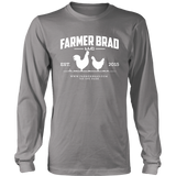 OFFICIAL FARMER BRAD (District Long Sleeve Shirt)