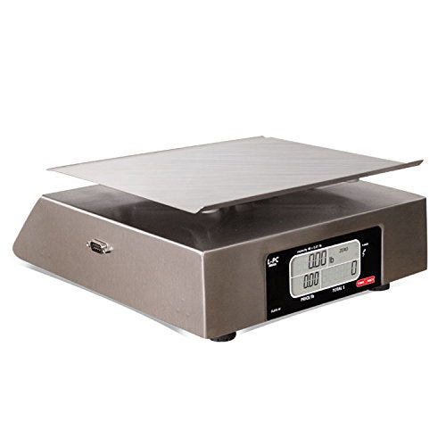 TORREY LPC40L Electronic Price Computing Scale, Rechargeable Battery, Stainless Steel Construction, 100 Memories, 8 Direct Access Keys , 40 lb - Farmer Brad LLC