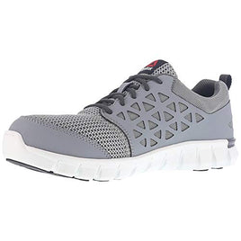 Reebok Work Men's Sublite Cushion Work Industrial and Construction Shoe (12 E US, Grey) - Farmer Brad LLC