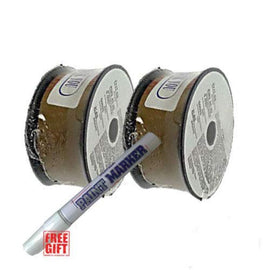 "2 Rolls of E71T-11 .030"" & .035"" 2-LB Gasless Flux Core Welding Wire … (0.030"") - Farmer Brad LLC"