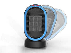 Fitfirst Personal Space Heater, Mini Electric Desk Heater Fan - Farmer Brad LLC