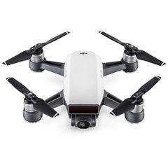 DJI Spark Alpine White Quadcopter Drone 32GB Essentials Bundle - Farmer Brad LLC