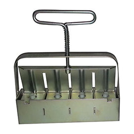 Ladbrooke Hand-held Mini 4 Soil Blocker with New Handle is Easier on Hands! - Farmer Brad LLC