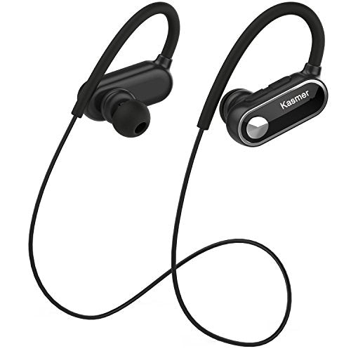 Bluetooth Sport Headphones, Kasmer Wireless Sport Earphones HD Stereo Sweatproof Earbuds For Gym Running Workout 11 Hours Playtime Headset - Farmer Brad LLC