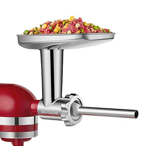 Meat Grinder Accessories for KitchenAid Stand Mixers Including Sausage Stuffer - Farmer Brad LLC