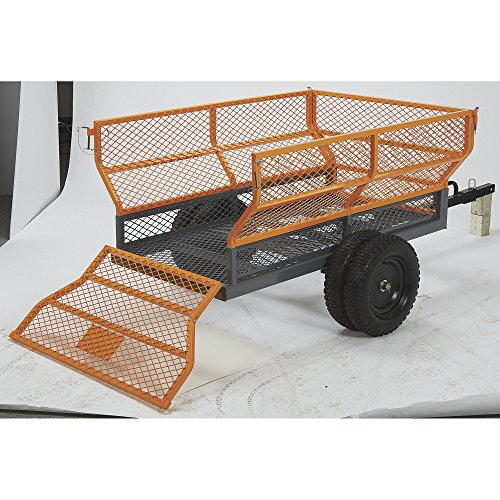 Bannon Utility Trailer - 1,400-Lb. Capacity, 24 Cu. Ft.  One Color