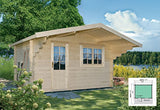 Lillevilla Escape | 113 SQF Allwood Kit Cabin - Farmer Brad LLC