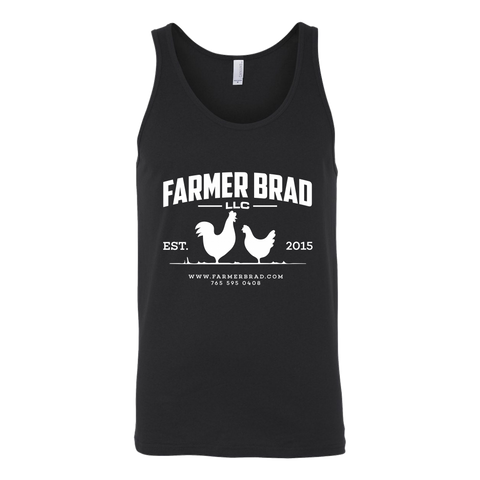 OFFICIAL FARMER BRAD (Canvas Unisex Tank) - Farmer Brad LLC