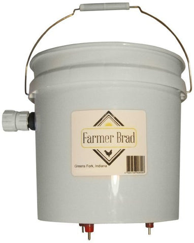 Automatic Chicken Waterer (BPA Free) 2 gallon - Farmer Brad LLC