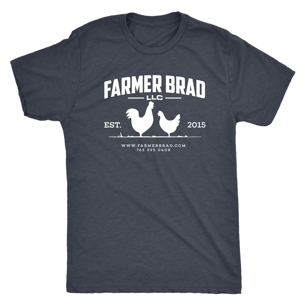 OFFICIAL FARMER BRAD (Next Level Mens Triblend) - Farmer Brad LLC