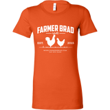 OFFICIAL FARMER BRAD (Bella Womens Shirt)