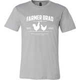 OFFICIAL FARMER BRAD (Canvas Mens Shirt) - Farmer Brad LLC