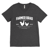 OFFICIAL FARMER BRAD (Canvas Mens V-Neck)