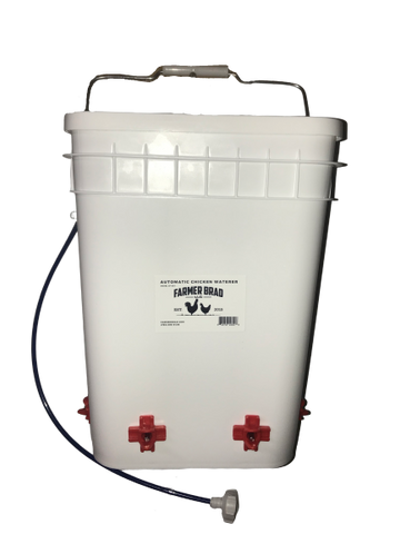 4 Gallon Automatic Chicken Waterer (PRE ORDER) - Farmer Brad LLC