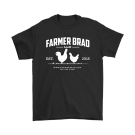 OFFICIAL FARMER BRAD (Gildan Mens T-Shirt) - Farmer Brad LLC