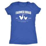 OFFICIAL FARMER BRAD (Next Level Womens Triblend) - Farmer Brad LLC