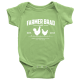 OFFICIAL FARMER BRAD (Baby Bodysuit) - Farmer Brad LLC