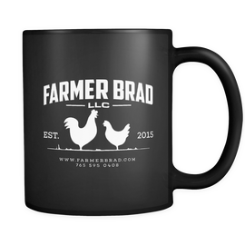 Official Farmer Brad Coffee Mug - Farmer Brad LLC