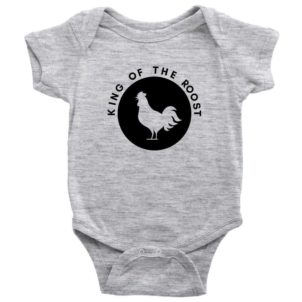 King of the Roost (Logo) - Baby Onesie