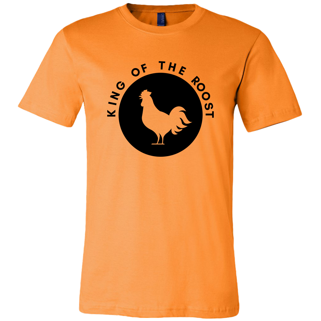 King of the Roost (Logo) - Canvas Mens Shirt