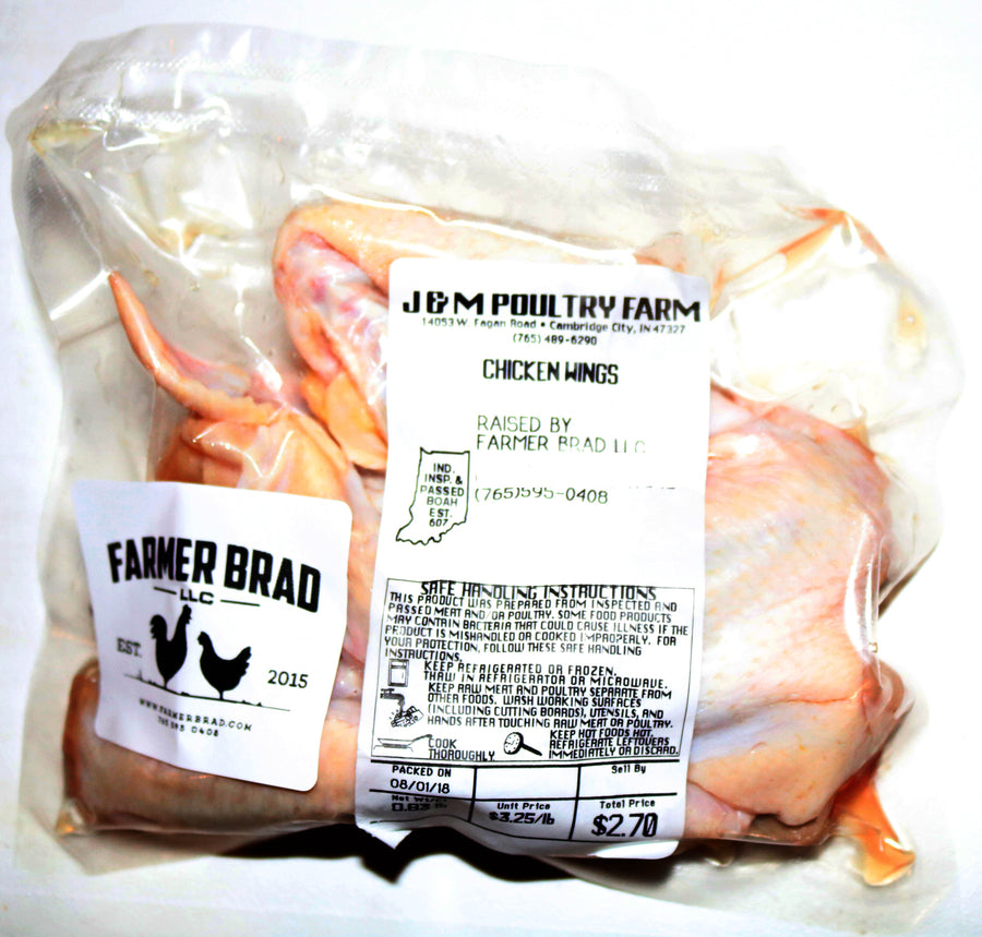 Chicken Wings - Farmer Brad LLC