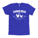 OFFICIAL FARMER BRAD (American Apparel Mens Shirt) - Farmer Brad LLC