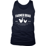 OFFICIAL FARMER BRAD (District Mens Tank) - Farmer Brad LLC