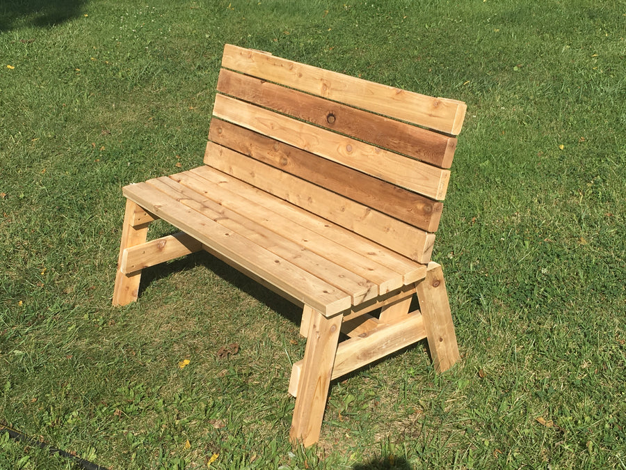 Wood Bench - Farmer Brad LLC
